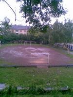 футбольний майданчик на Короленка