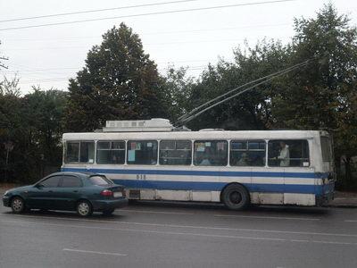 Львівський тролейбус