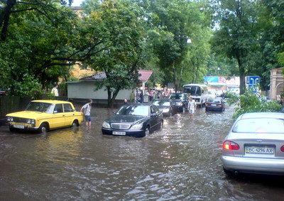 Гроза у Львові
