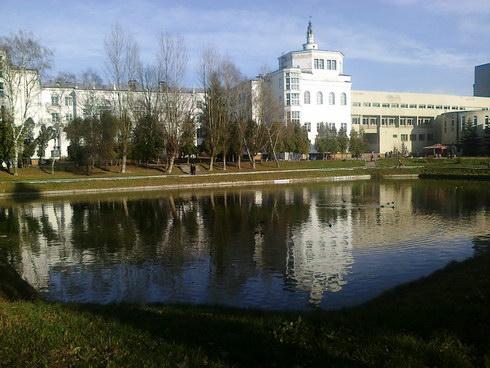 Водойма біля ветуніверситету