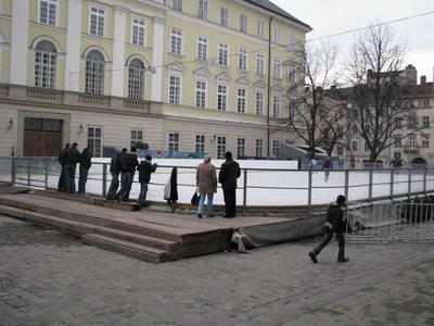 Ковзанка у Львові