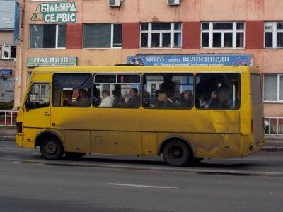 Львівські маршрутки