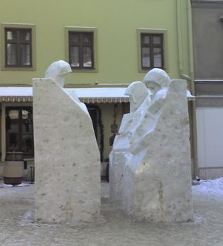 Снігові скульптури
