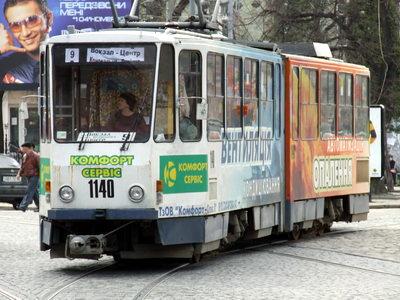 Трамвай на Сихів