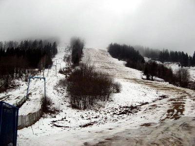 Сніг розтаяв...