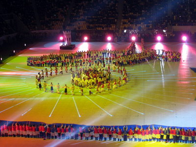 церемонія відкриття стадіону Арена Львів