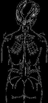 схема масажу