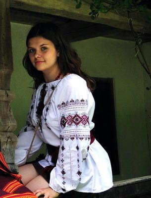Дівчина Vrubli