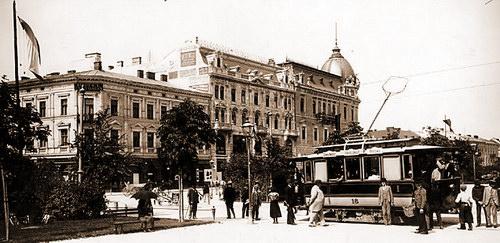 Львів 1908 року, проспект Свободи