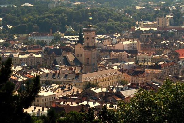 Панорама з Високого замку
