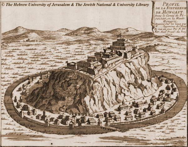 Замок Паланок у XVII столітті
