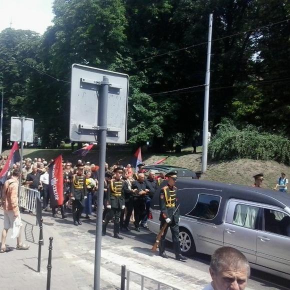 У Львові поховали Василя Сліпака