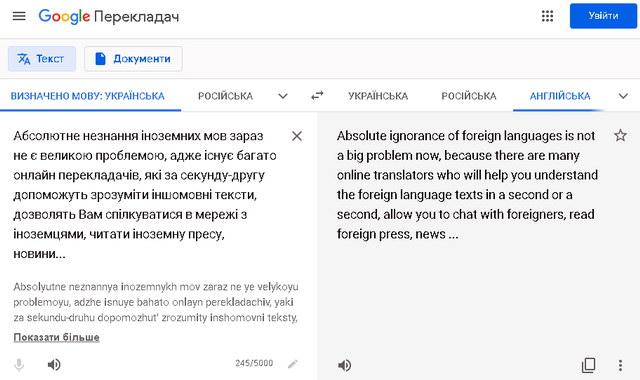 Google Перекладач