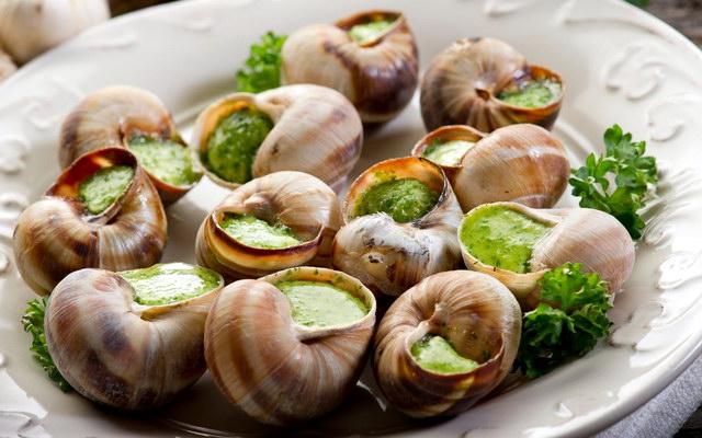 страва з равликів