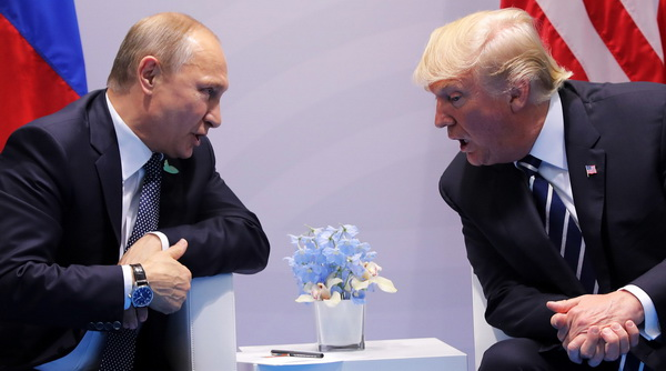 Путін - Трамп