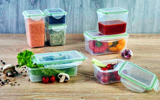 пластикова упаковка для продуктів
