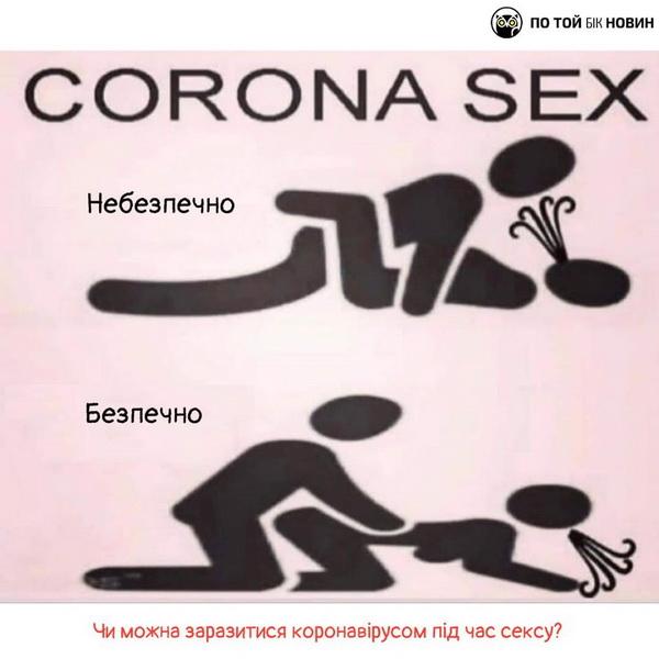 Секс і коронавірус