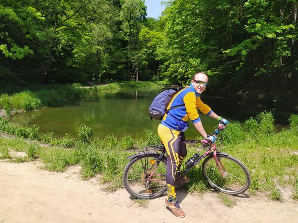 Велосипедом у Винники