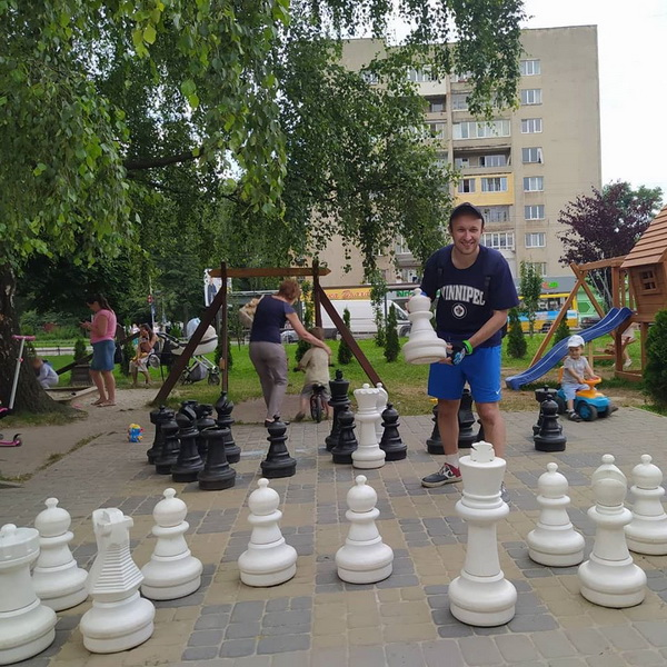 Пограємо в шахи?