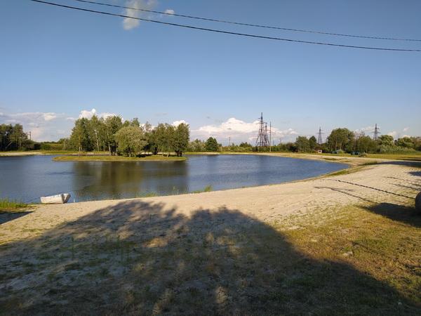 Озеро в Мурованому