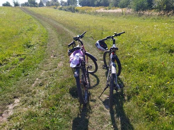 Велосипедами в Старе Село