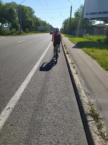 Велосипедна доріжка на Зеленій