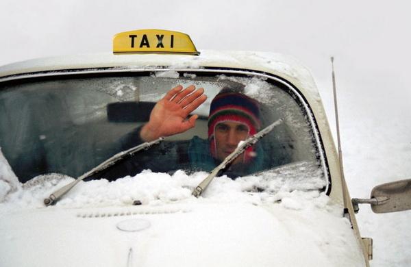 Веселий таксист