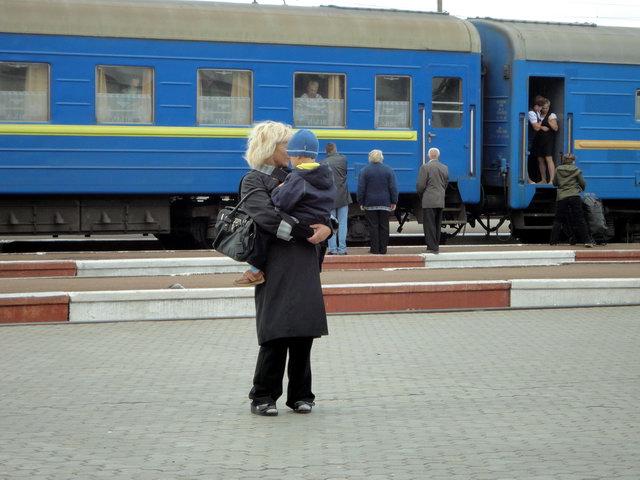 подорож Україною поїздом