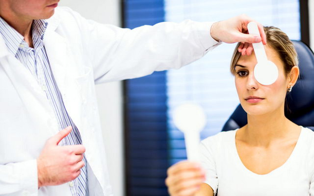 Обстеження у офтальмолога