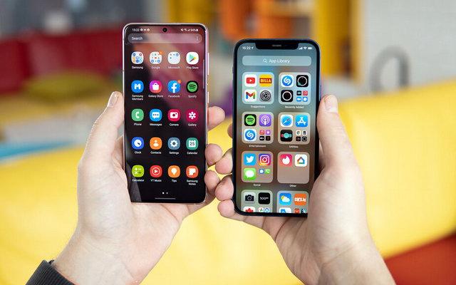iPhone 12 проти Samsung Galaxy S21