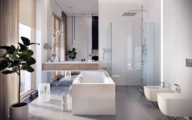 сучасна ванна кімната