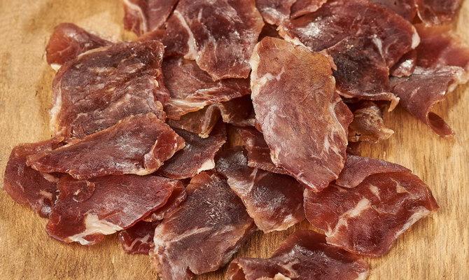в'ялене м'ясо